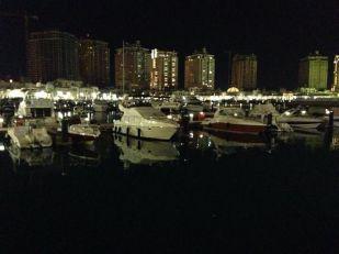 Boats at The Pearl