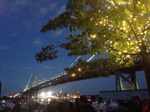 morgans pier night